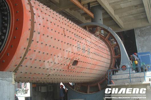 ball mill trunnion,ball mill, CHAENG