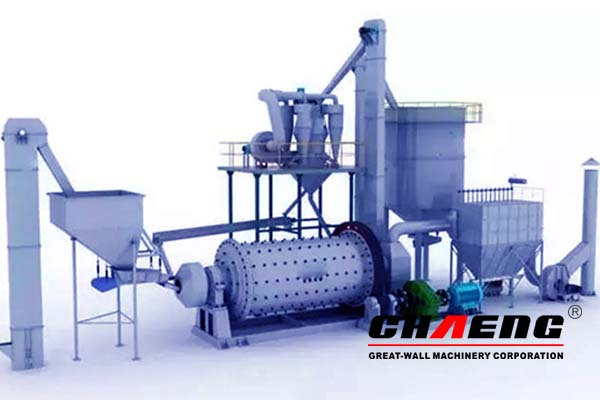 CHAENG high performance cement grinding station